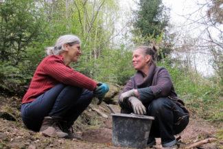 Katherina Bornefeld und Mimi van Bindsbergen