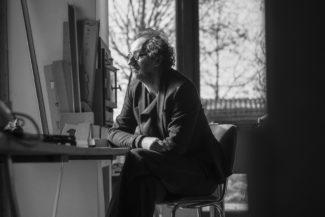 Dirk Schellekens in seinem Studio Foto: Liesbet Peremans